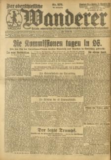 Der Oberschlesische Wanderer, 1921, Jg. 94, Nr. 272