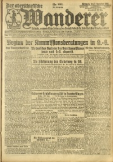 Der Oberschesische Wanderer, 1921, Jg. 94, Nr. 281