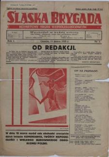Śląska Brygada, 1935, Nry 1-9, 11-13, 15-43