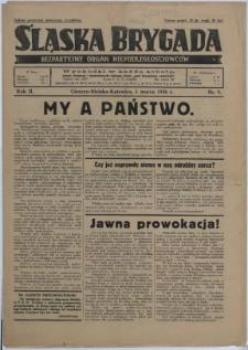Śląska Brygada, 1936, Nry 9, 16, 37