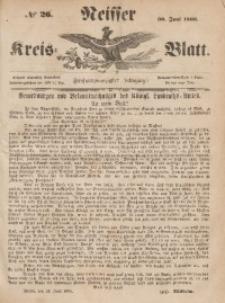 Neisser Kreis-Blatt, 1866, Jg. 24, nr26
