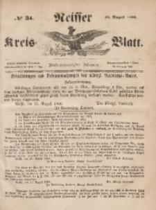 Neisser Kreis-Blatt, 1866, Jg. 24, nr34