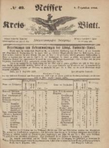 Neisser Kreis-Blatt, 1866, Jg. 24, nr49