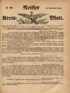 Neisser Kreis-Blatt, 1873, Jg. 32 , nr48
