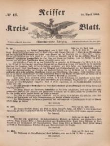 Neisser Kreis-Blatt, 1882, Jg. 41, nr17
