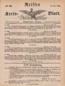 Neisser Kreis-Blatt, 1882, Jg. 41, nr20