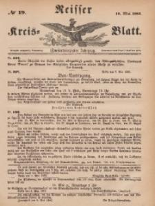 Neisser Kreis-Blatt, 1883, Jg. 42, nr19