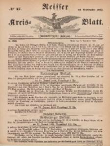 Neisser Kreis-Blatt, 1883, Jg. 42, nr47