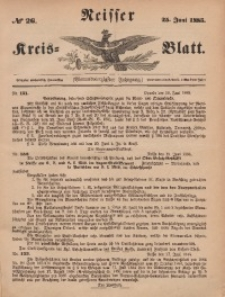Neisser Kreis-Blatt, 1885, Jg. 44, nr26