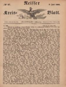 Neisser Kreis-Blatt, 1885, Jg. 44, nr27