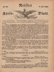 Neisser Kreis-Blatt, 1885, Jg. 44, nr28