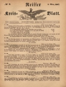 Neisser Kreis-Blatt, 1887, Jg. 46, nr9