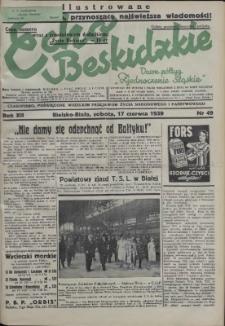 Echo Beskidzkie, 1939, Nry 1-22, 24-59, 61-65
