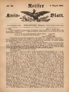 Neisser Kreis-Blatt, 1887, Jg. 46, nr31