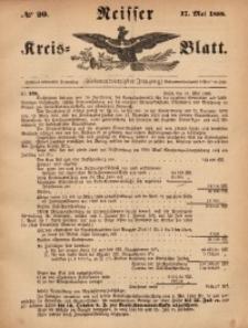 Neisser Kreis-Blatt, 1888, Jg. 47, nr20