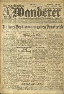 Der Oberschlesische Wanderer, 1924, Jg. 96, Nr. 78