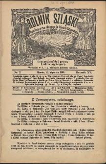 Rolnik Szląski, 1899, Nry 1-9, 12-24