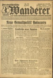 Der Oberschlesische Wanderer, 1924, Jg. 96, Nr. 80