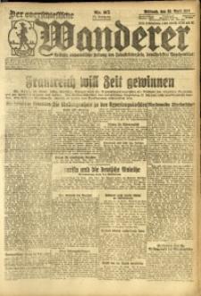 Der Oberschlesische Wanderer, 1924, Jg. 96, Nr. 95