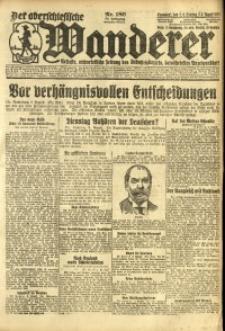 Der Oberschlesische Wanderer, 1924, Jg. 96, Nr. 180