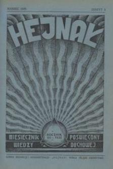 Hejnał, 1935, R. 7, z. 3