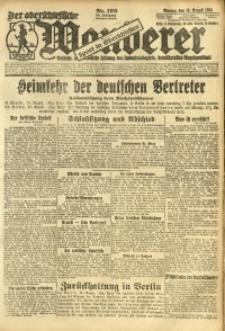 Der Oberschlesische Wanderer, 1924, Jg. 96, Nr. 193