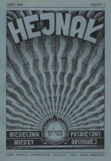 Hejnał, 1935, R. 7, z. 7