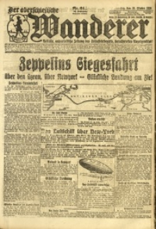 Der Oberschlesische Wanderer, 1924, Jg. 96, Nr. 244