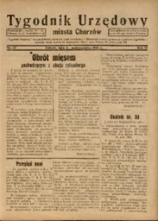 Tygodnik Urzędowy Miasta Chorzów, 1937, R. 4, nr 37