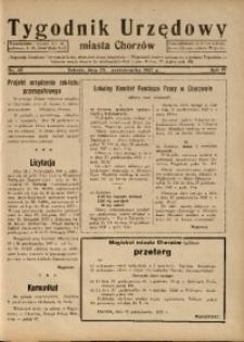 Tygodnik Urzędowy Miasta Chorzowa, 1937, R. 4, nr 40