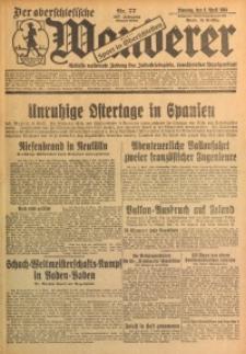 Der Oberschlesische Wanderer, 1934, Jg. 107, Nr. 77