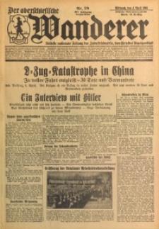 Der Oberschlesische Wanderer, 1934, Jg. 107, Nr. 78