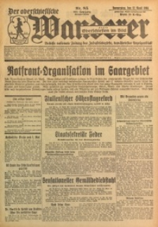 Der Oberschlesische Wanderer, 1934, Jg. 107, Nr. 85
