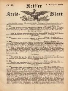 Neisser Kreis-Blatt, 1890, Jg. 49, nr45