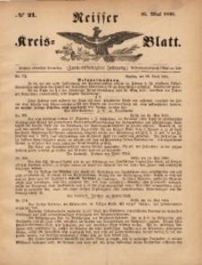 Neisser Kreis-Blatt, 1893, Jg. 52, nr21