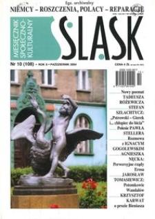 Śląsk, 2004, R. 10, nr 10