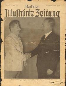 Berliner Illustrirte Zeitung 1939, nr 35.