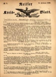 Neisser Kreis-Blatt, 1899, Jg. 58, nr7