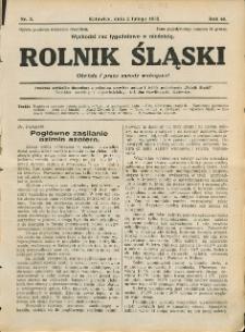 Rolnik Śląski, 1930, Nry 5-9, 11-31, 33-37, 39, 41