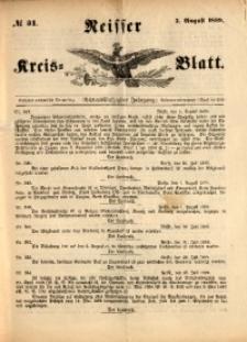 Neisser Kreis-Blatt, 1899, Jg. 58, nr31