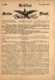 Neisser Kreis-Blatt, 1901, Jg. 60, nr26
