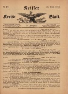 Neisser Kreis-Blatt, 1912, Jg. 71, nr17