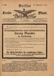 Neisser Kreis-Blatt, 1912, Jg. 71, nr38