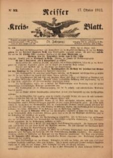 Neisser Kreis-Blatt, 1912, Jg. 71, nr42