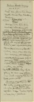 Posiedzenie Komitetu Ściślejszego dnia 10.X.1918