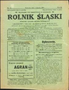 Rolnik Śląski, 1937, Nry 31, 41, 43, 45, 49, 51-52