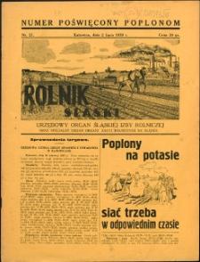 Rolnik Śląski, 1939, Nry 27-28, 31-35