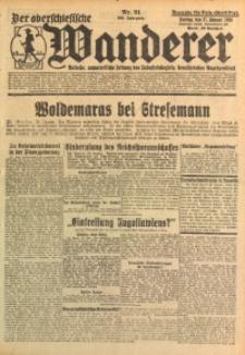 Der Oberschlesische Wanderer, 1928, Jg. 100, Nr. 21