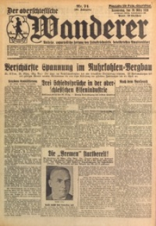 Der Oberschlesische Wanderer, 1928, Jg. 100, Nr. 74