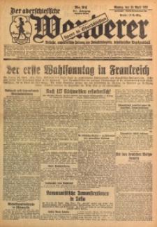 Der Oberschlesische Wanderer, 1928, Jg. 101, Nr. 94
